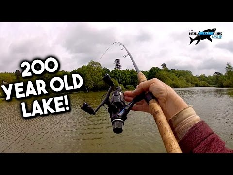 Fishing a 200 YEAR OLD LAKE!