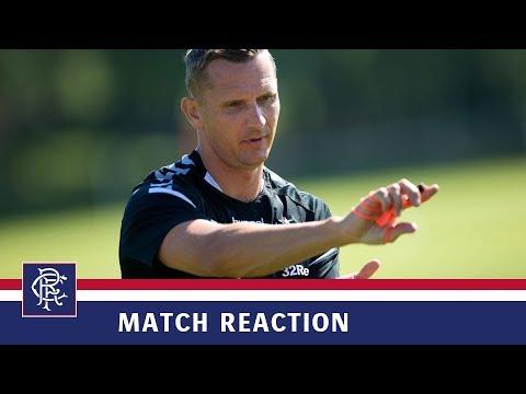 REACTION | Peter Lovenkrands | Rangers 6-2 Motherwell