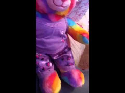 Build A Bear Rainbow Hugs Bear