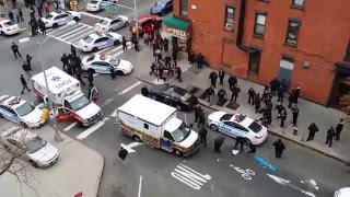 NYPD Officers Assassinated while sitting in patrol car in Brooklyn
