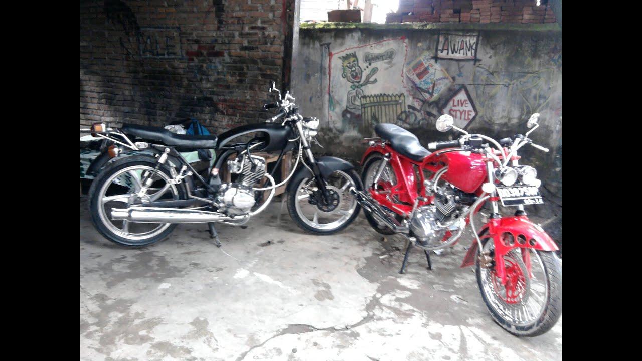 Kumpulan Modifikasi Motor Honda CB 100125Dan CG YouTube
