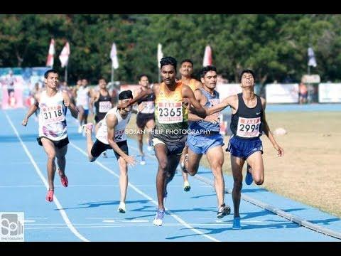 33rd Juniors national athletics championship vijayawada guntur November 2017 800mtr u 16 heat