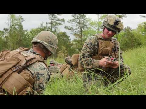 2nd Battalion 2nd Marine Regiment, 2nd Marine Division, conduct a light demolition on Fort A.P. Hill