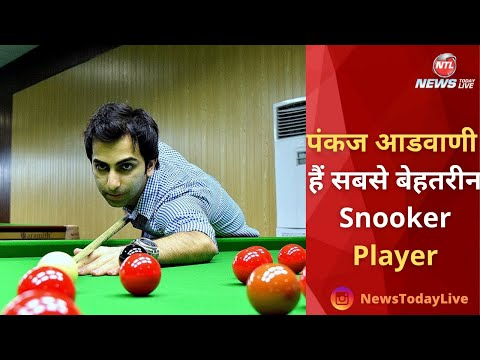 Pankaj Advani Snooker and Billiard Champion of India