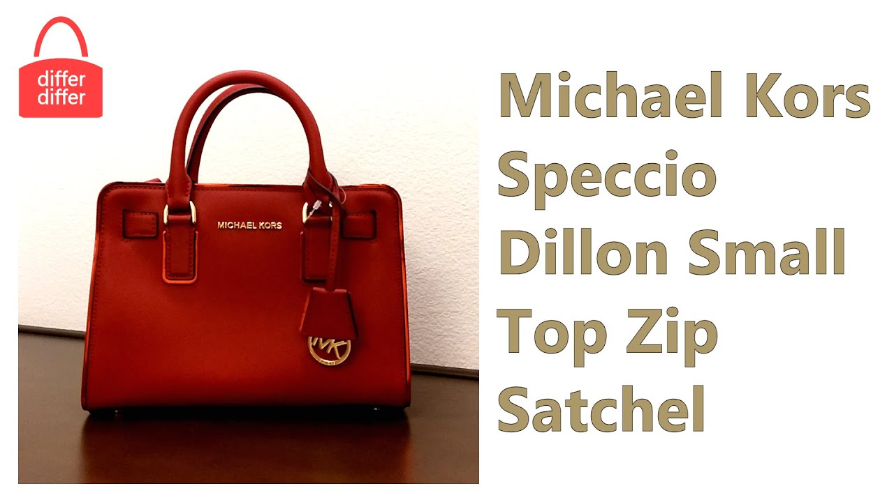Michael Kors Speccio Dillon Small Top Zip Satchel 30H5GUBS1L