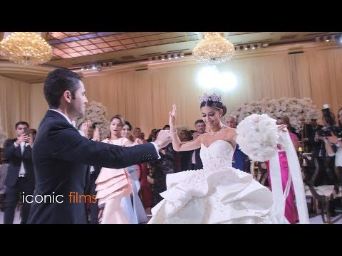 TURKISH wedding entry in LOS ANGELES!