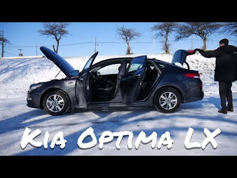 Kia Optima LX   detailed car review and test drive