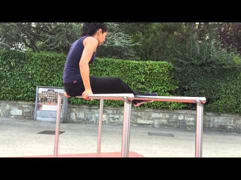 Street workout girl genève