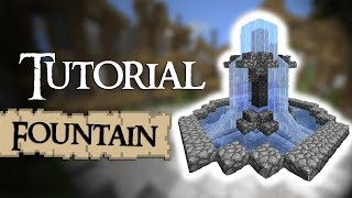Minecraft Tutorial: How t๐ build a small fountain