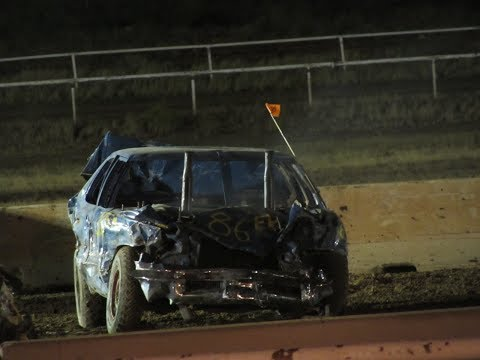 Demolition Derby | Heats to Final Round | Gila County Fair