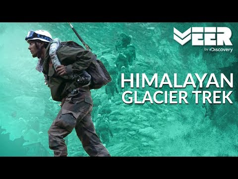 Himalayan Glacier Walk Training at HAWS | High Altitude Warfare School E3P2 | Veer by Discovery