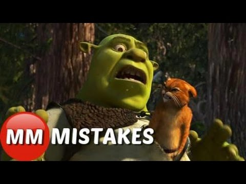 Shrek 2 Movie Mistakes In You Didn T Notice Shrek 2 Goofs Youtube