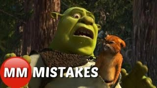 Shrek 2 MOVIE MISTAKES In You Didn't Notice |  Shrek 2 Goofs