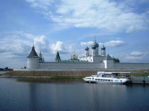 Переправа на пароме, через Волгу с Лысково в Макарьево.