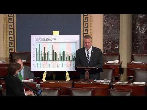 Sen. Dan Sullivan (R-AK) speaks on the Senate floor, May 11, 2016