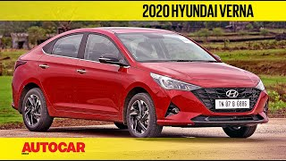 2020 Hyundai Verna Review - Facelift With Turbo Petrol Power | First Drive | Autocar India