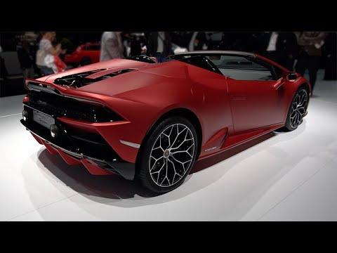 2020 Lamborghini Huracan Evo Spyder 2019 Frankfurt Motor Show