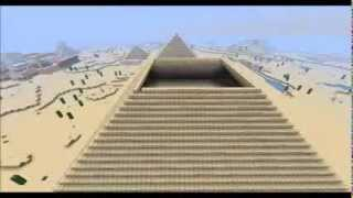 Minecraft - Timelapse - Egyptian Oasis