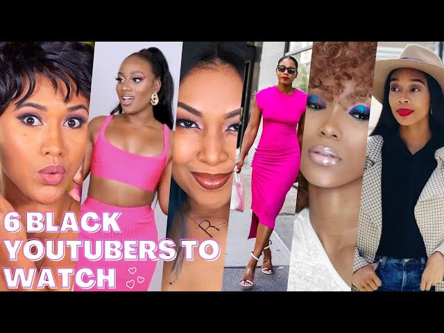 Six Black Youtubers You Need To Watch | Black Youtubers | Youtubers To Watch | This Bahamian Gyal
