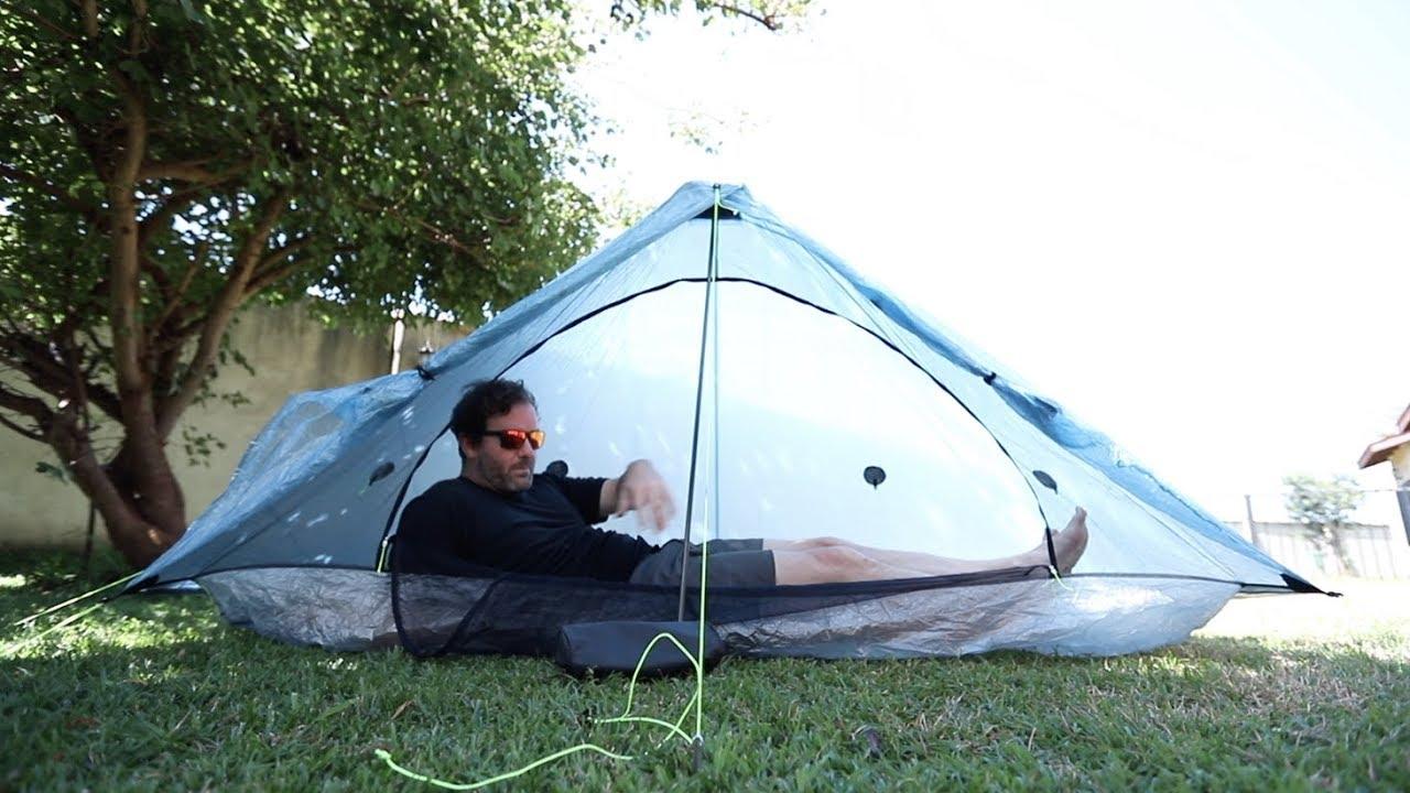 Zpacks Plexamid superlätt tält Backpackinglight.se