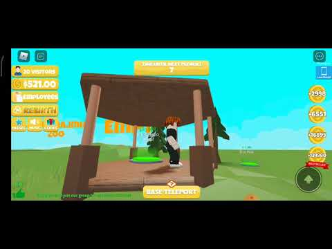 Download making my own zoo in Roblox