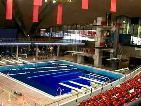 guided tour of montreal olympic park swimming pools youtube