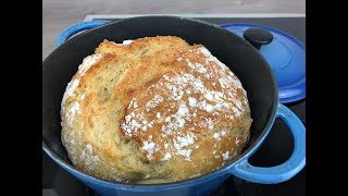 Brot backen ohne kneten, no knead bread
