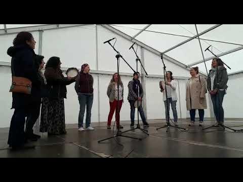 A Tradescola ofreceu un concerto en San Marcos