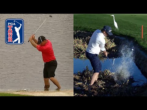 PGA TOUR's best shots from the water