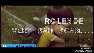 Aj Ro Len de muy triste canción de nobita y shisuka de dibujos animados de la historia de amor