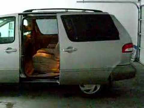 02 Toyota Sienna Power Sliding Door Youtube