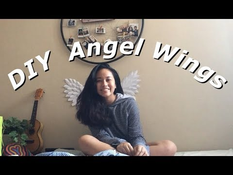 DIY: Angel Wings Wall Art (stop motion)