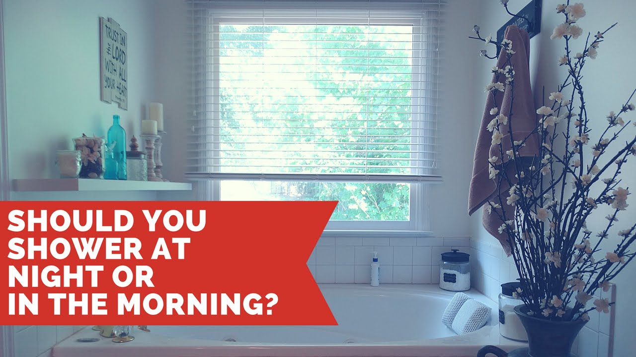 When Should I Shower, Morning or Night photo