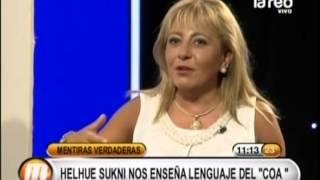 """Helhue Sukni enseña lenguaje del """"Coa"""""""