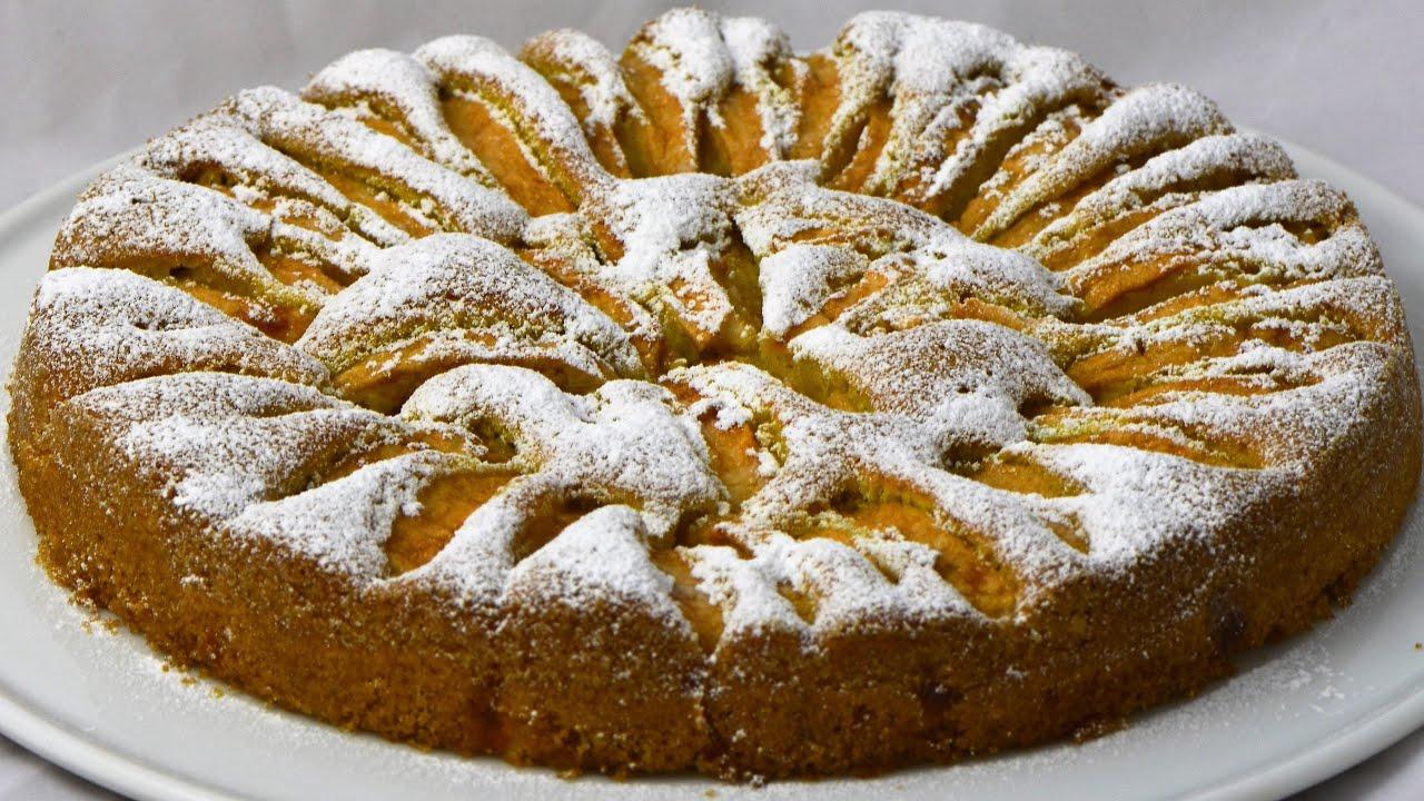 Torta Di Mele Morbida Soft Apple Pie By Bravobob Youtube