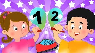 один два пряжки мой ботинок | номер песни | детские стишки | выучить цифры | One Two Buckle My Shoe