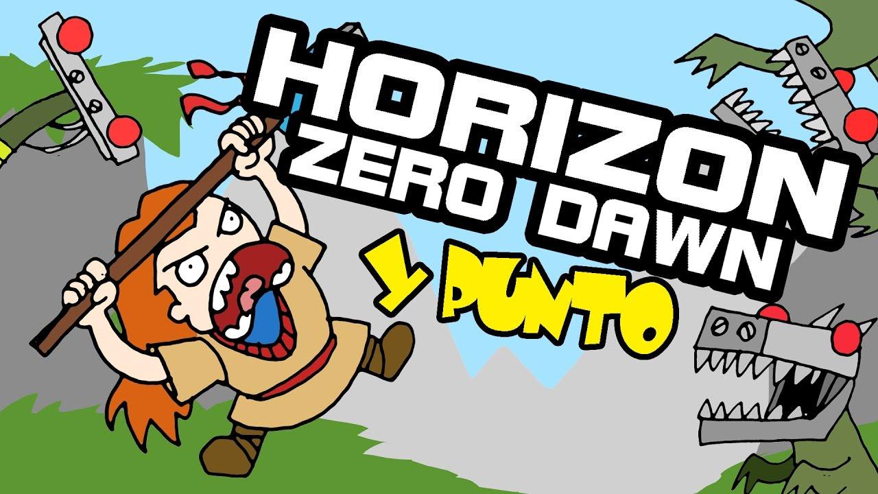 Horizon Zero Dawn Box Art: HORIZON ZERO DAWN Y Punto