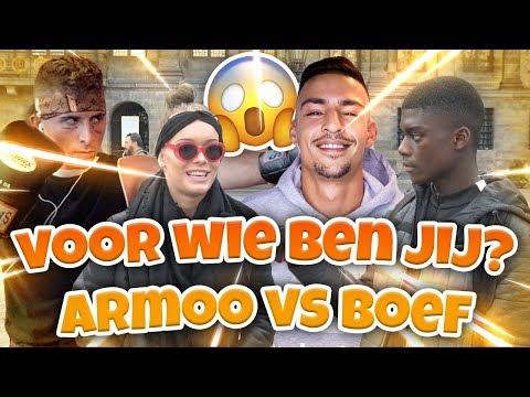 BOEF VS ARMOO WIE GAAT WINNEN? - AMSTERDAM