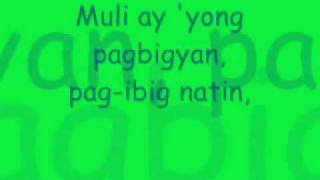 Repeat youtube video Pagbigyang Muli Lyrics - Erik Santos