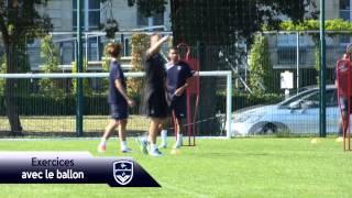 U19 : Reportage à l'entraînement, avec Ibrahim Diarra et Rémi Mestrallet