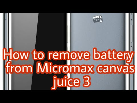 Micromax Canvas Juice 3+ Q394 Battery Videos - Waoweo