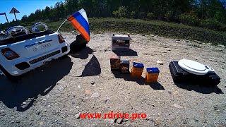 видео: RDrive Junior vs. Delta: Тест драйв аккумуляторов на детском электромобиле