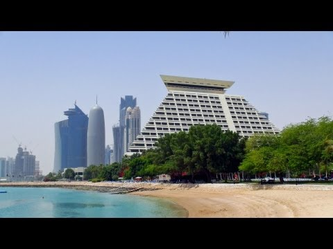Doha / Qatar - relaxing day in Sheraton Resort & Convention Hotel HD