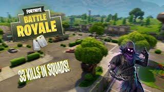 33 KILLS IN SQUADS!! - Fortnite Battle Royale Highlights #2 (Best plays and funny moments)