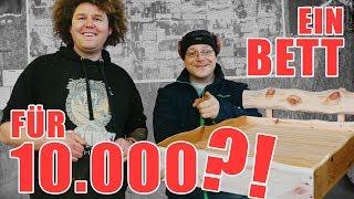 HOLZKUNST SCHOLZ - Ein Bett für 10.000?! // Infos Schnitzkurse