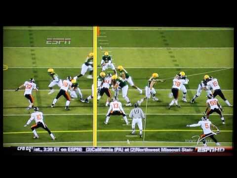 Oregon Vs Oregon St. - Civil War Highlights 2009