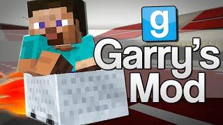 STUNT DRIVER STEVE   Garry's Mod: Minecraft (GMod)