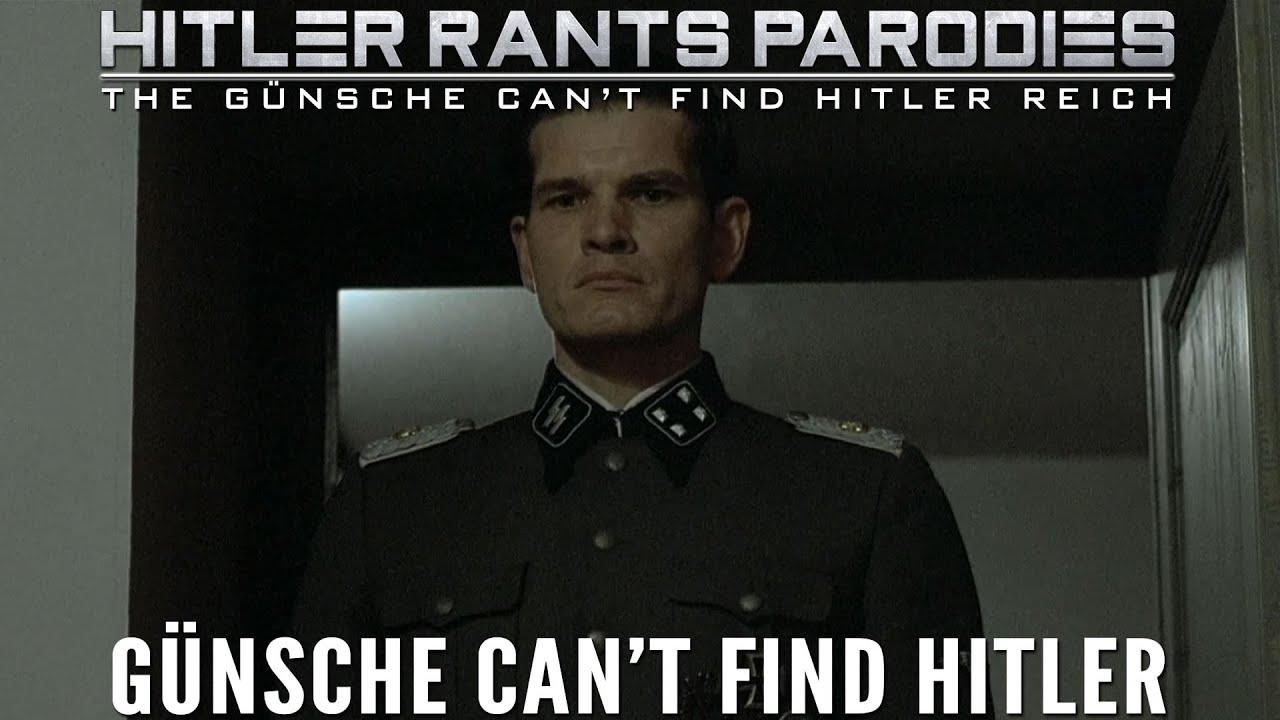 Günsche can't find Hitler