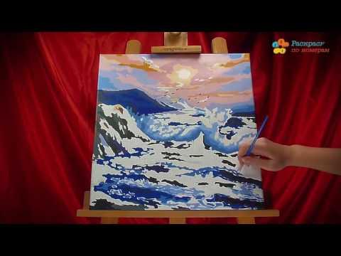 Картины по номерам на холсте в СПб, купить раскраски по