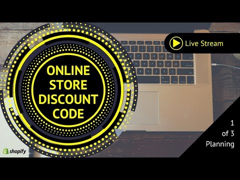 Shopify Discount Promo Code Marketing Campaign #1: Planning